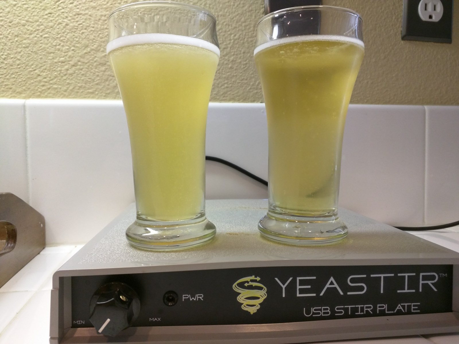 Yeast Comparison White Labs Wlp029 Vs Wyeast Wy2565 Xbmt Results Keezer Temp Controller Using The Stc1000 Mostly Harmless Brlosophy