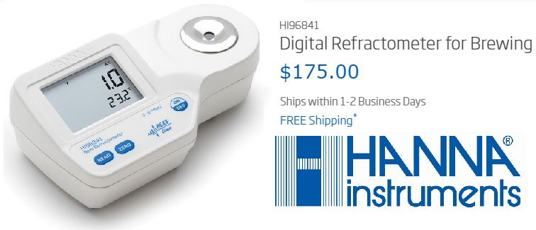 Hanna Instruments Digital Refractometer For Brewing Product Review